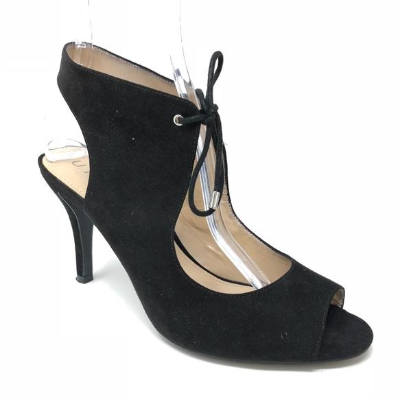 800733d687c Unisa Women Heels Black 9.5 Open Toe Lace Up. M 5bc4f393fe51518db28c0558